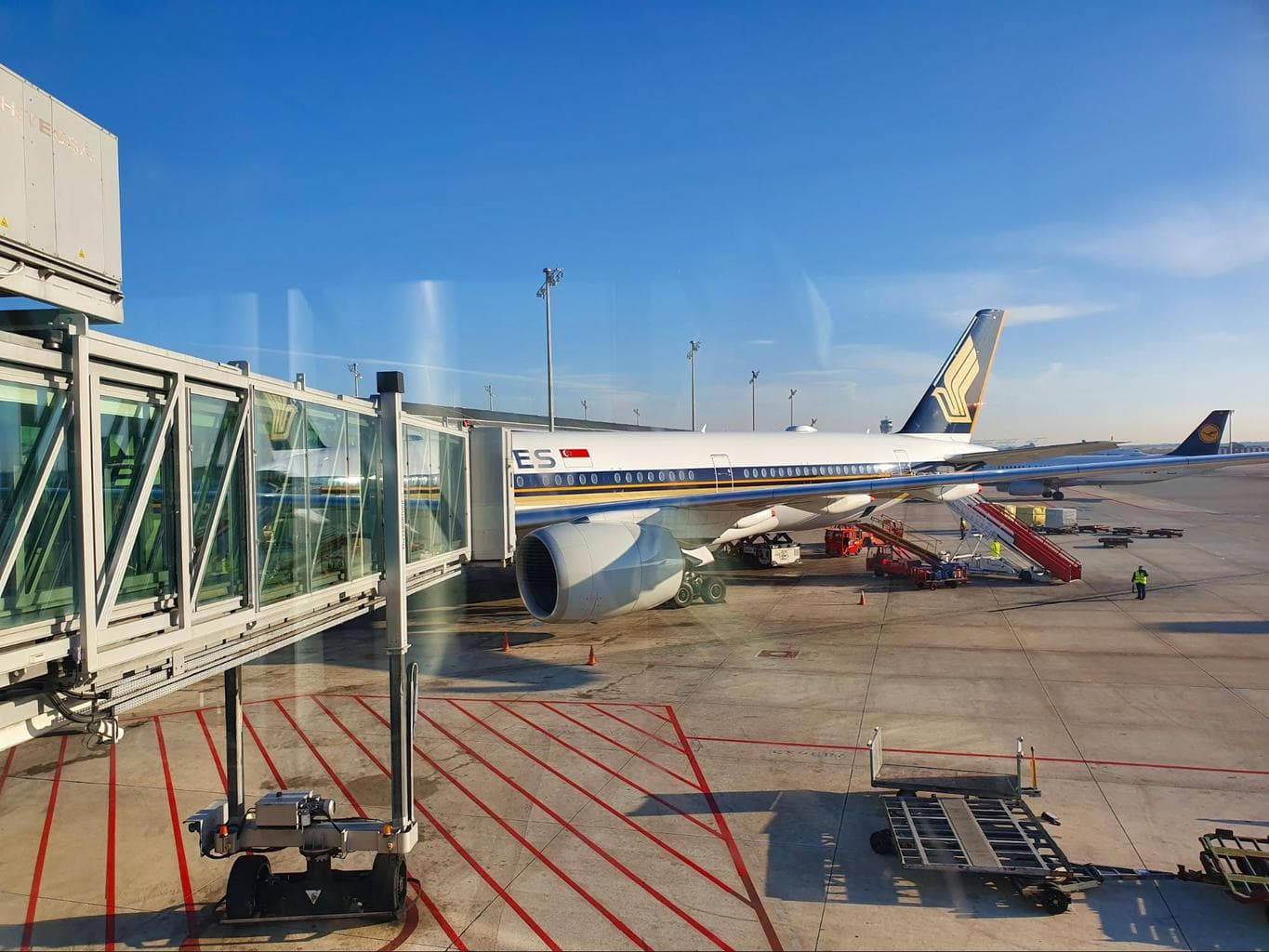 Singapore Airlines A350-900 aircraft