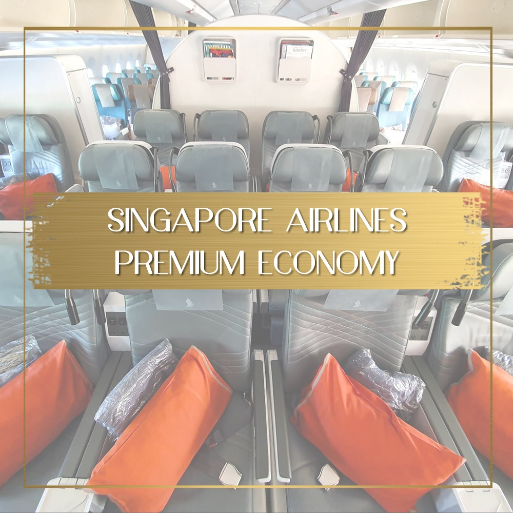 Singapore Airlines Premium Economy feature