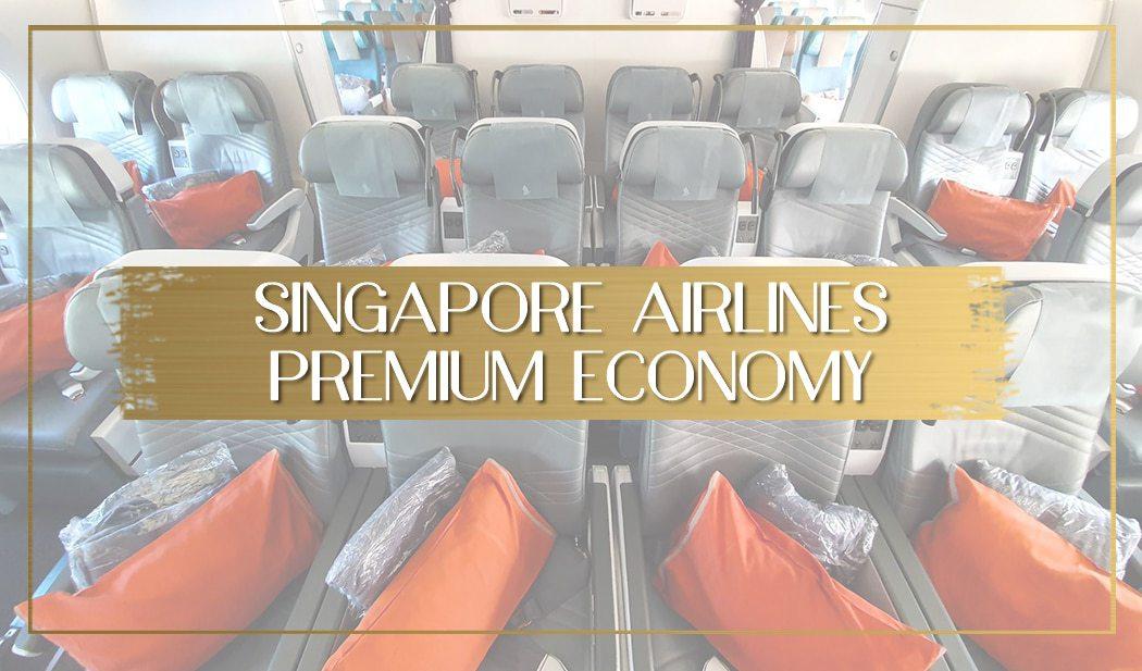 Singapore Airlines Premium Economy main