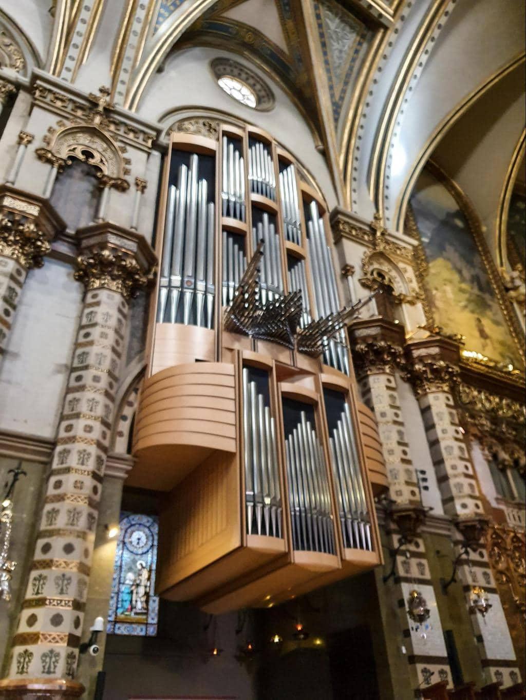 The organ of Montserrat