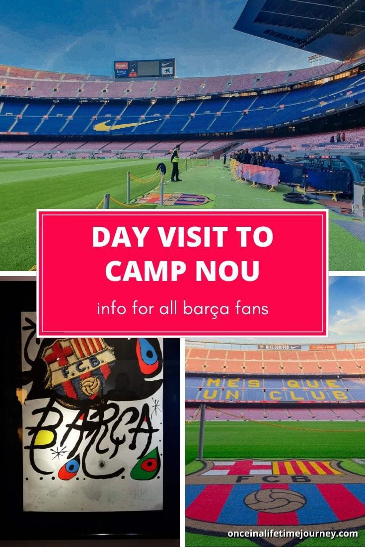 Trip to Cam Nou in Barcelona