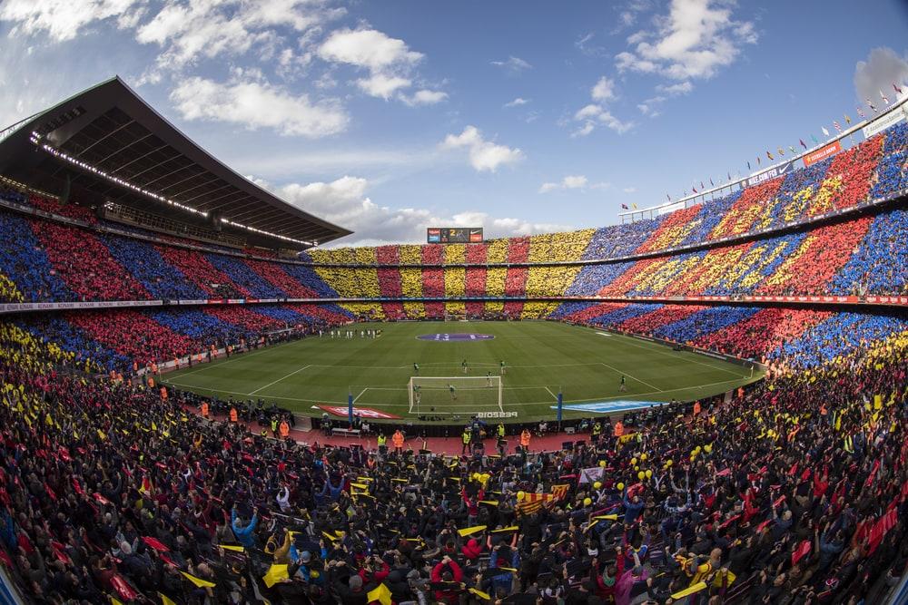 Camp Nou mosaics