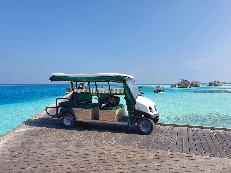 Gili Lankanfushi arrival