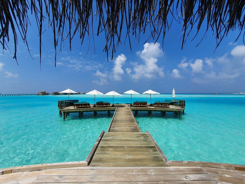 Gili Lankanfushi overwater restaurant