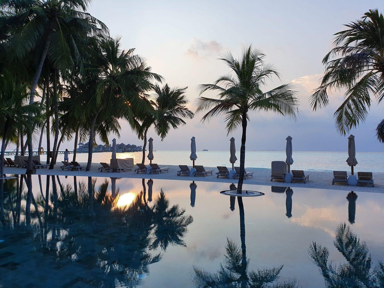 Gili Lankanfushi sunset