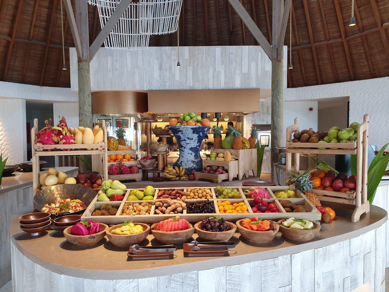 Breakfast at Gili Lankanfushi