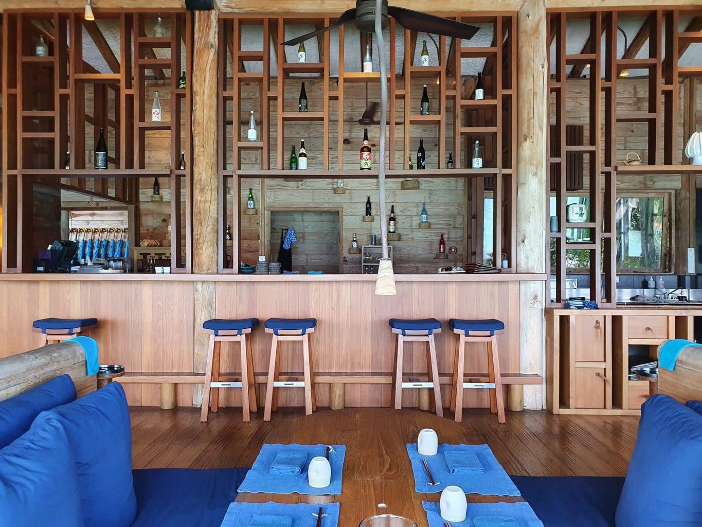 Japanese restaurant at Gili Lankanfushi