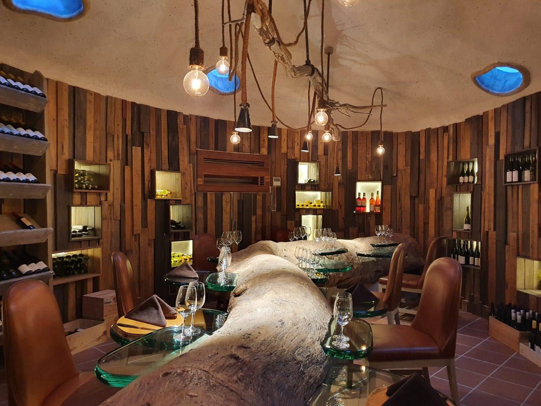 Gili Lankanfushi underground wine cellar
