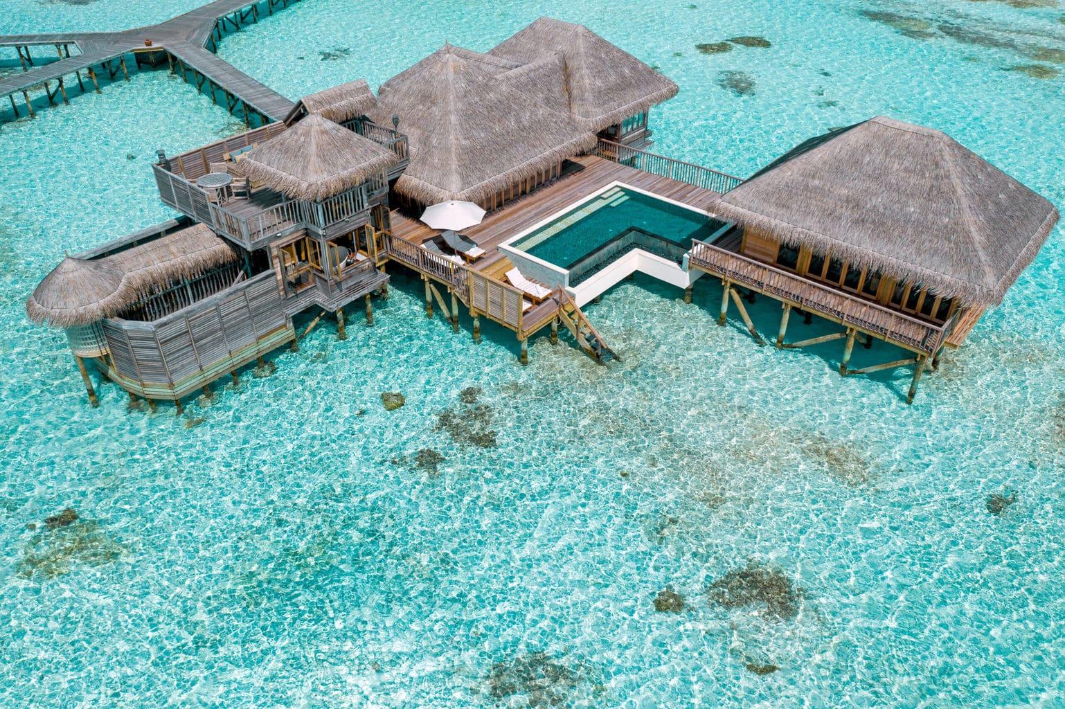 Family villa with pool at Gili Lankanfushi