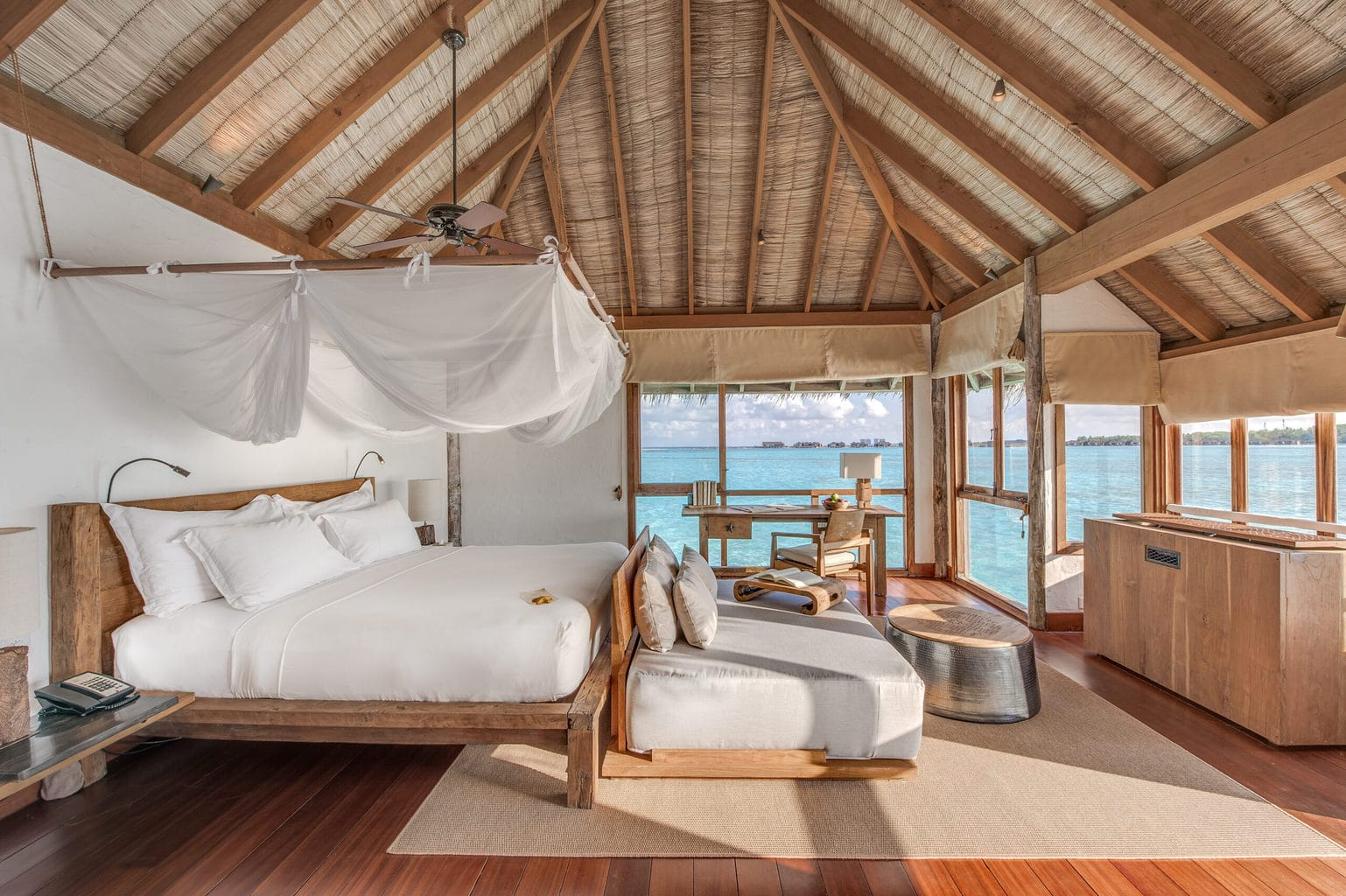 Bedroom of Residence villas at Gili Lankanfushi