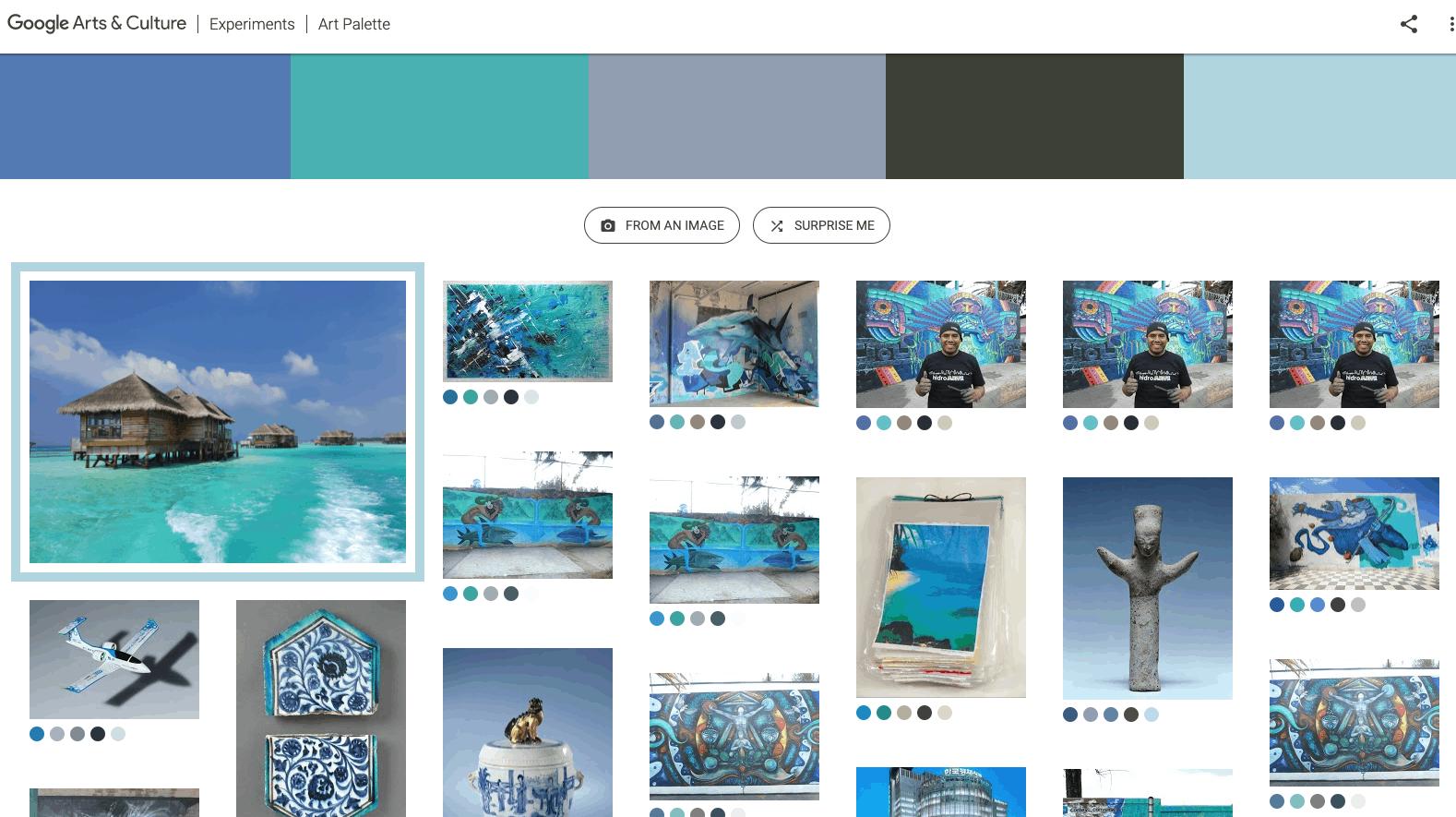 Google Art & Culture experiment