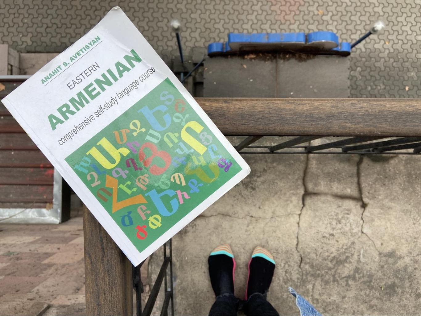 Learning Armenian with language books