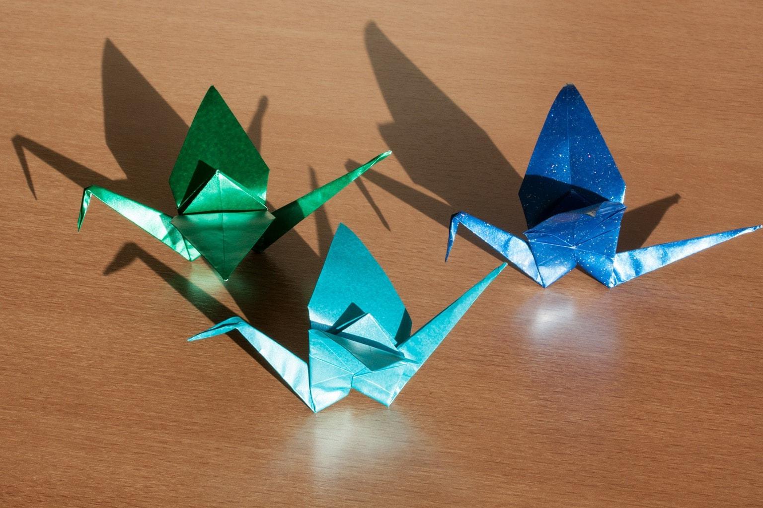 Origami crates