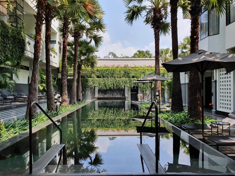 Shinta Mani Angkor pool
