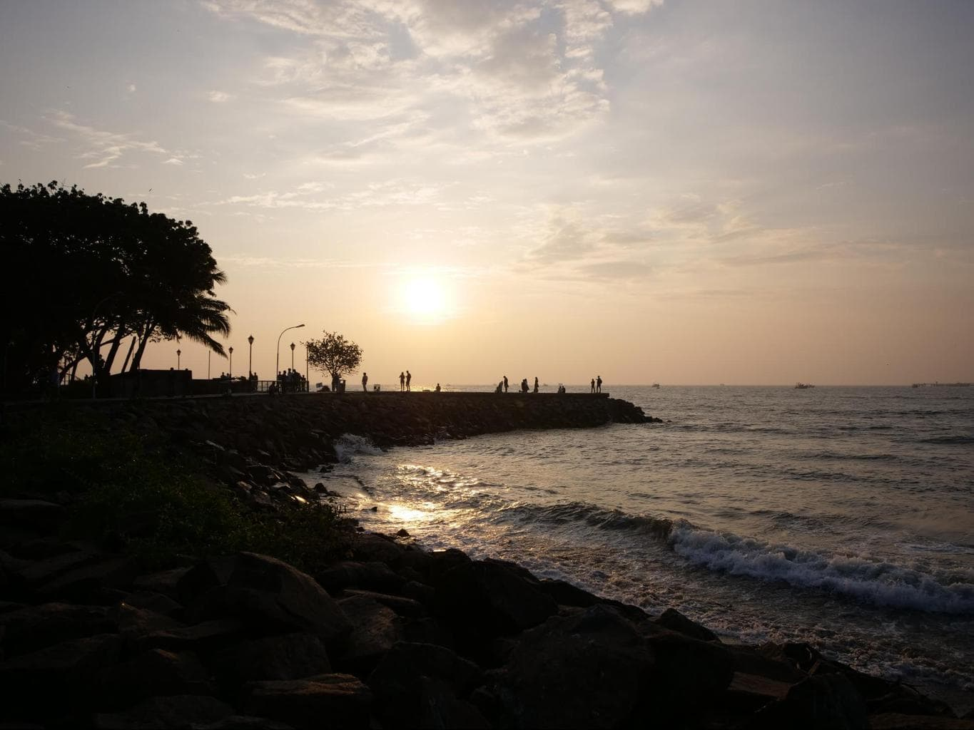 Sunset on Fort Kochi