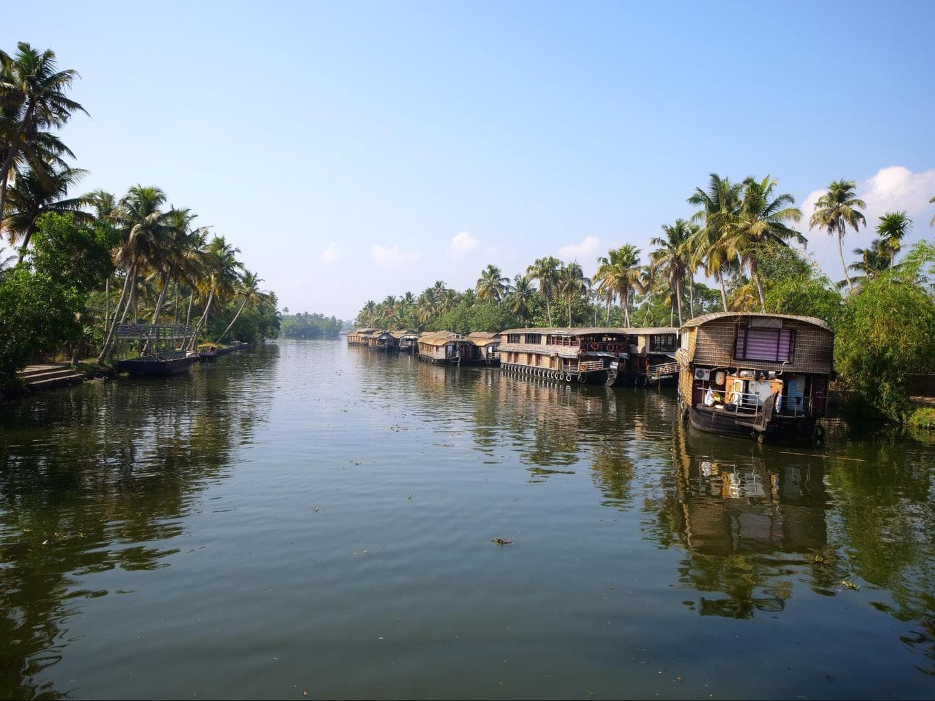 Tour of the backwaters of Kerala