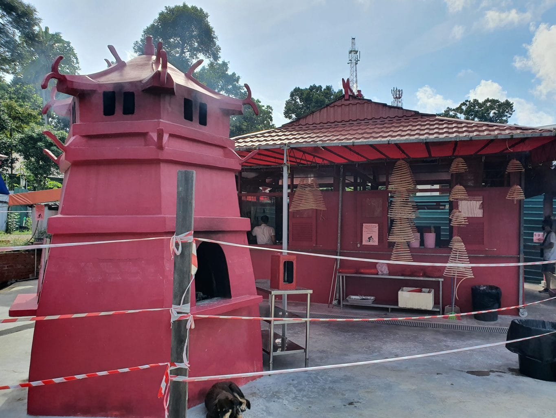 Fo Shan Ting Da Bo Gong Temple in Pulau Ubin