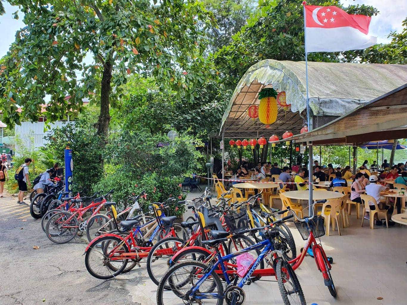 Restaurant on Pulau Ubin