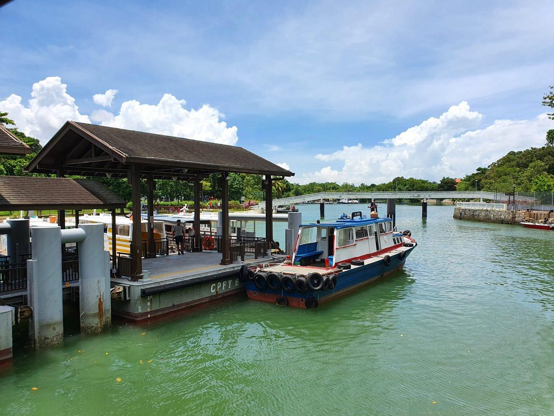 Changi Point Ferry terminal departures