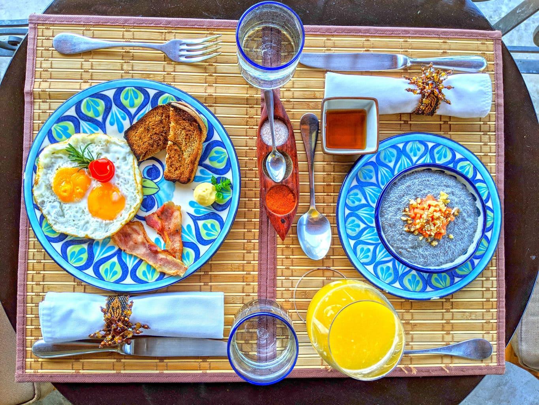 Breakfast in Guatemala