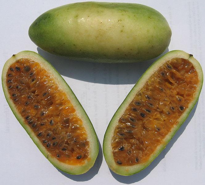 Curuba or Banana Passion Fruit. Wikipedia (CC BY-SA 3.0)