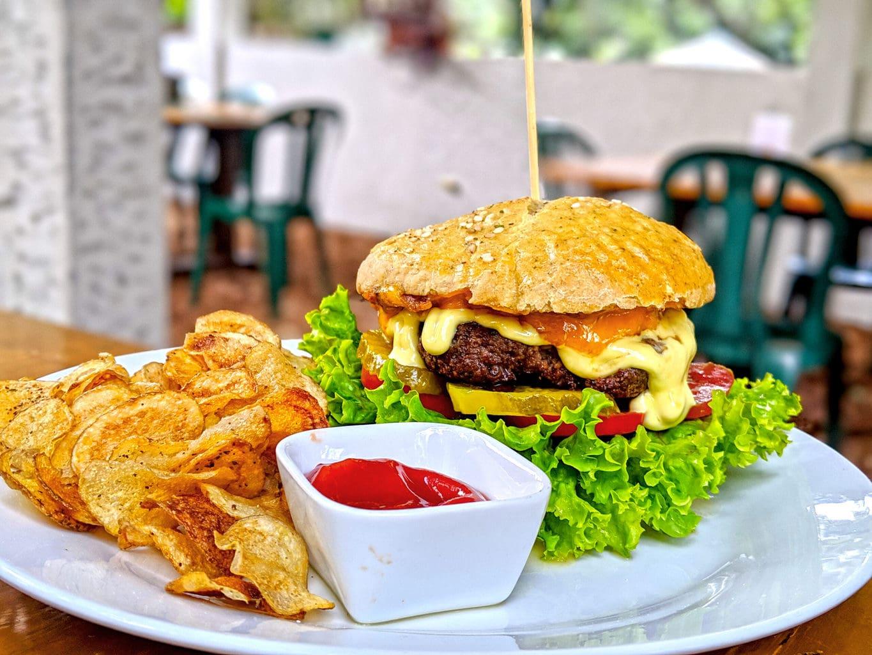 Hamburger in Guatemala