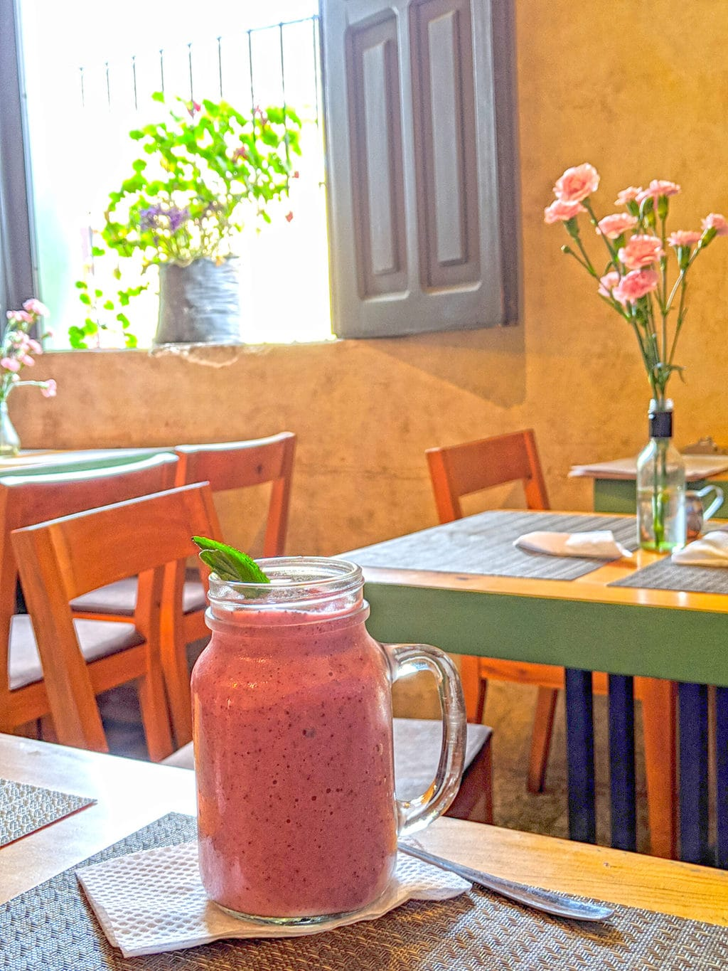 Smoothie in Guatemala