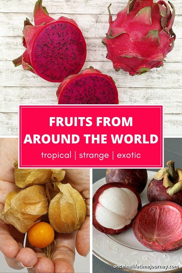 Tropical, strange and exotic fruits you've never seen before
