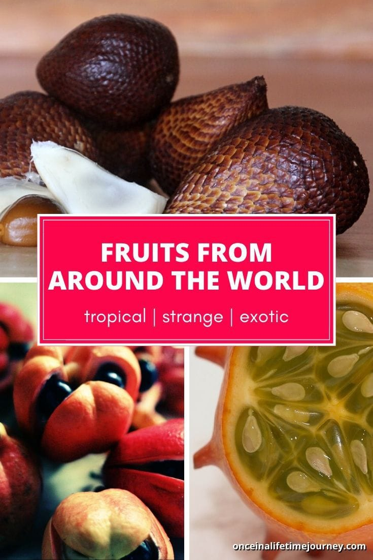 Tropical, strange, exotic fruits you've never seen before
