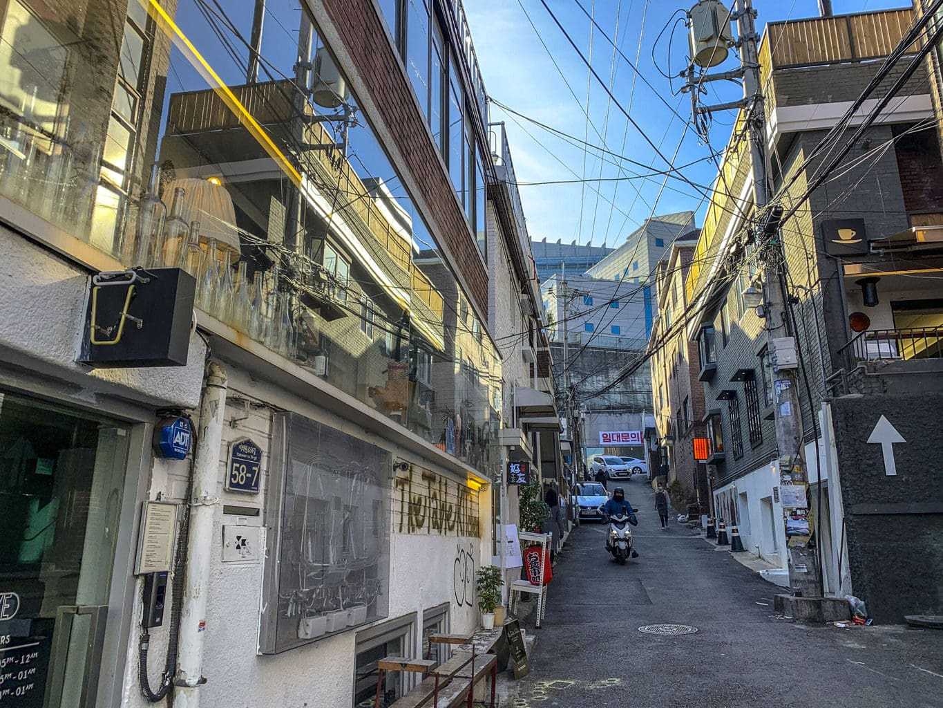 The back roads of Hannam-dong