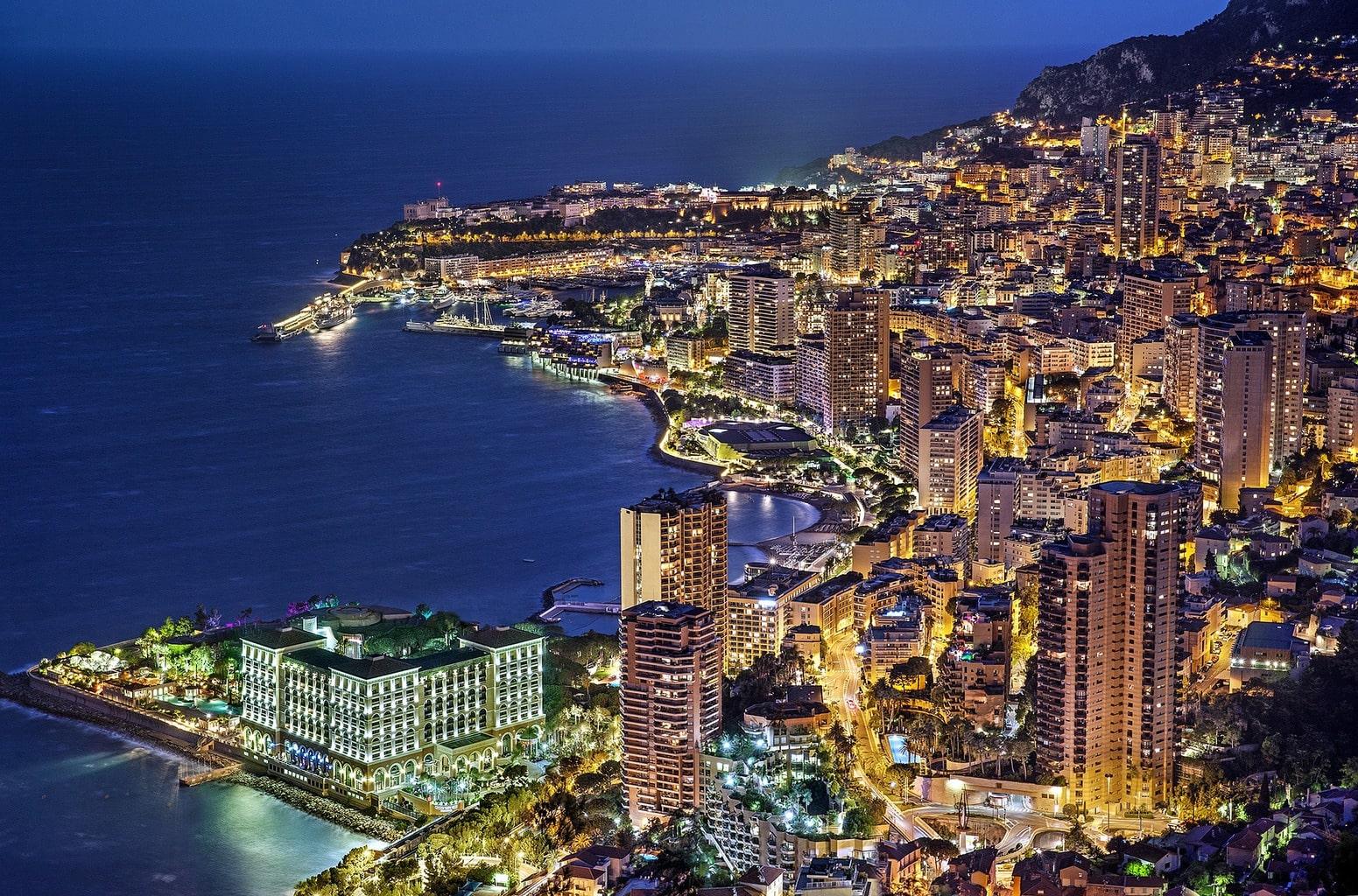 Monaco Blue Hour
