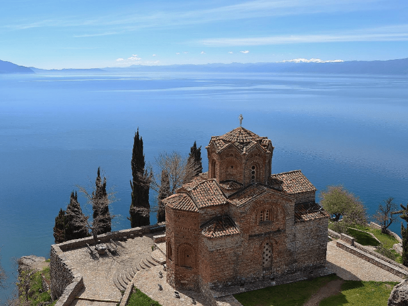 St. John the Theologian Church on Lake Ohrid