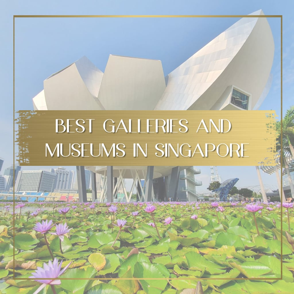 Best galleries and museums in Singapore