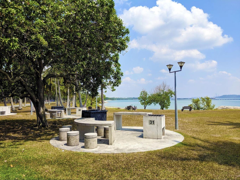 BBQ Pit at Pasir Ris Park