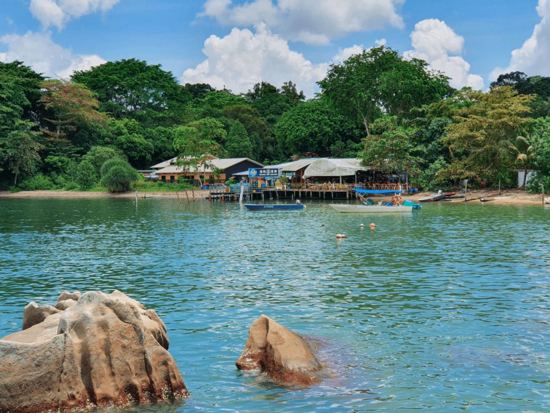 Entering Pulau Ubin