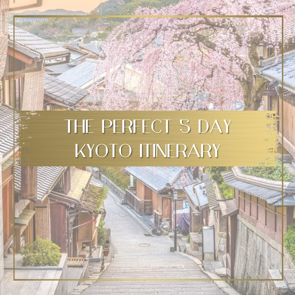 Kyoto Itinerary feature