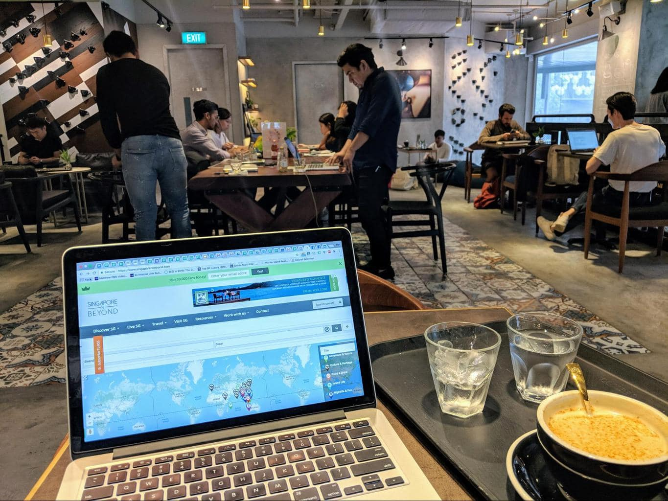 Mellower Cafe, very digital nomad friendly