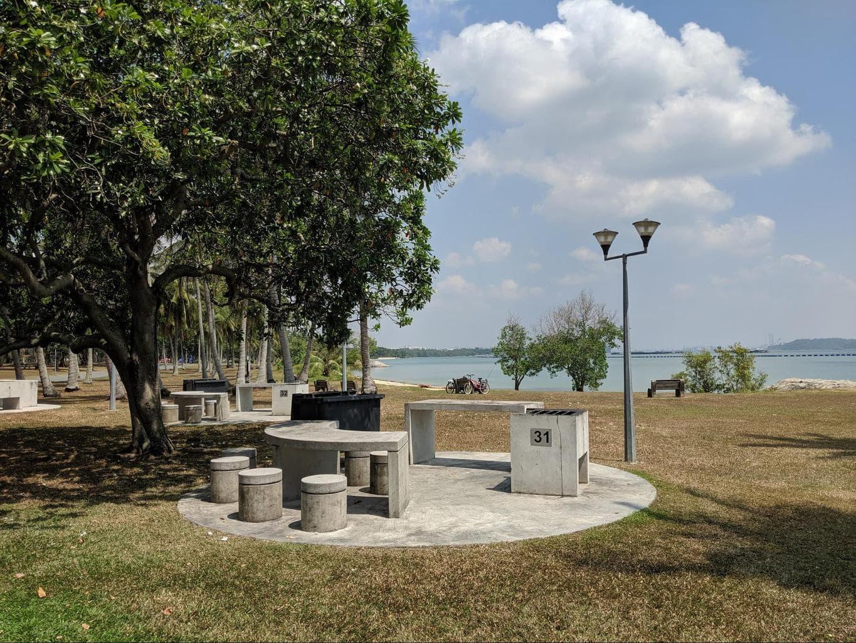 Pasir Ris Park BBQ Area
