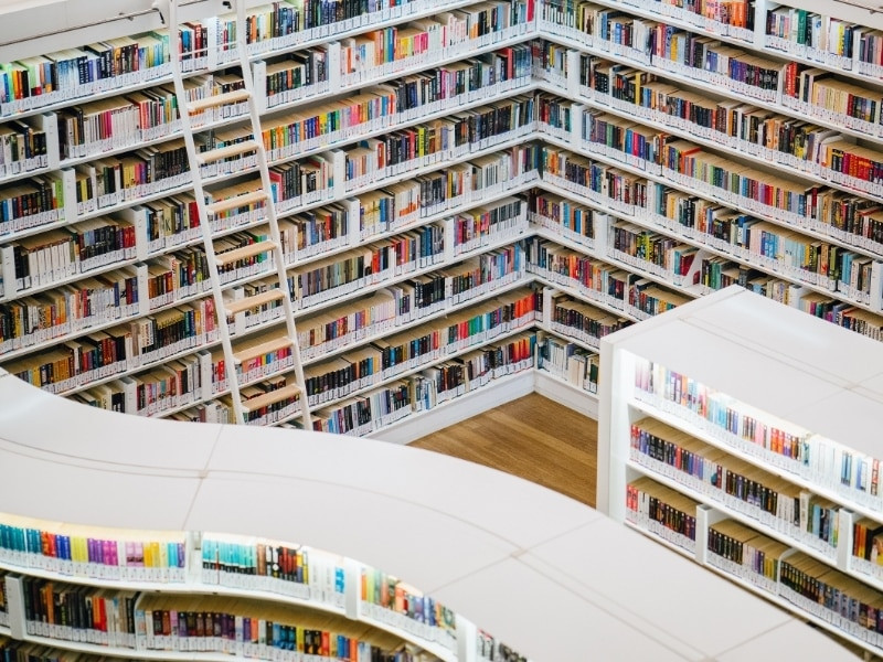 Pick up a book at the library or bookstore in Singapore