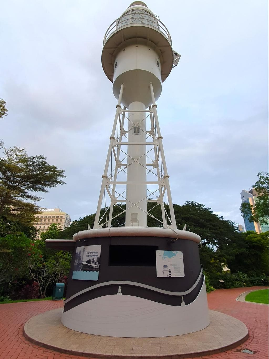 Tower at Fort Canning Park