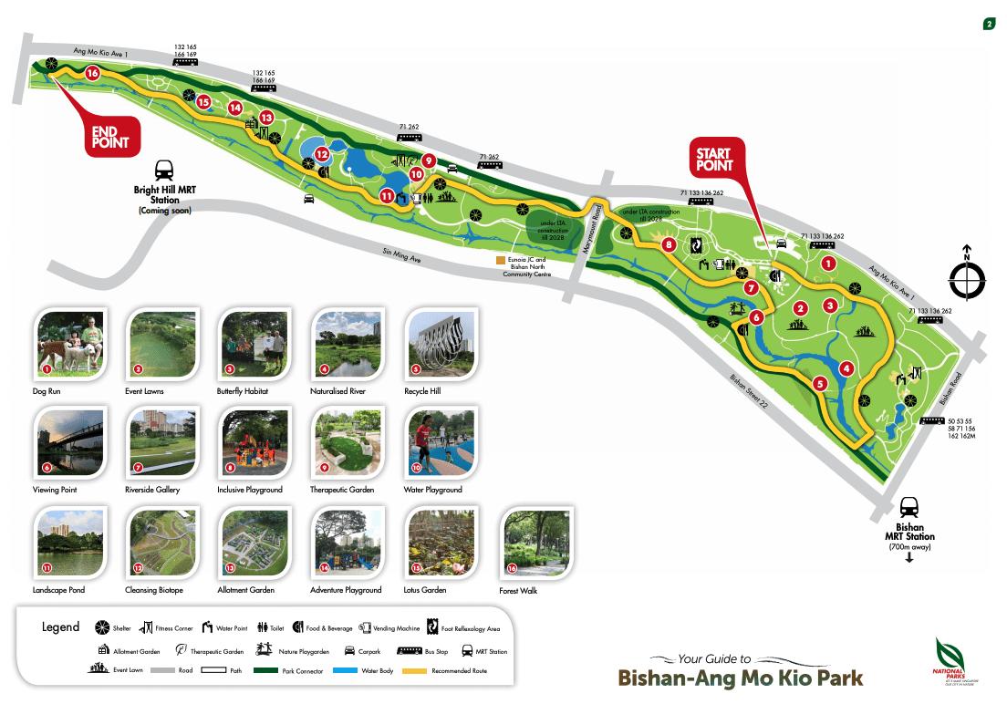 Bishan Ang Mo Kio Park map