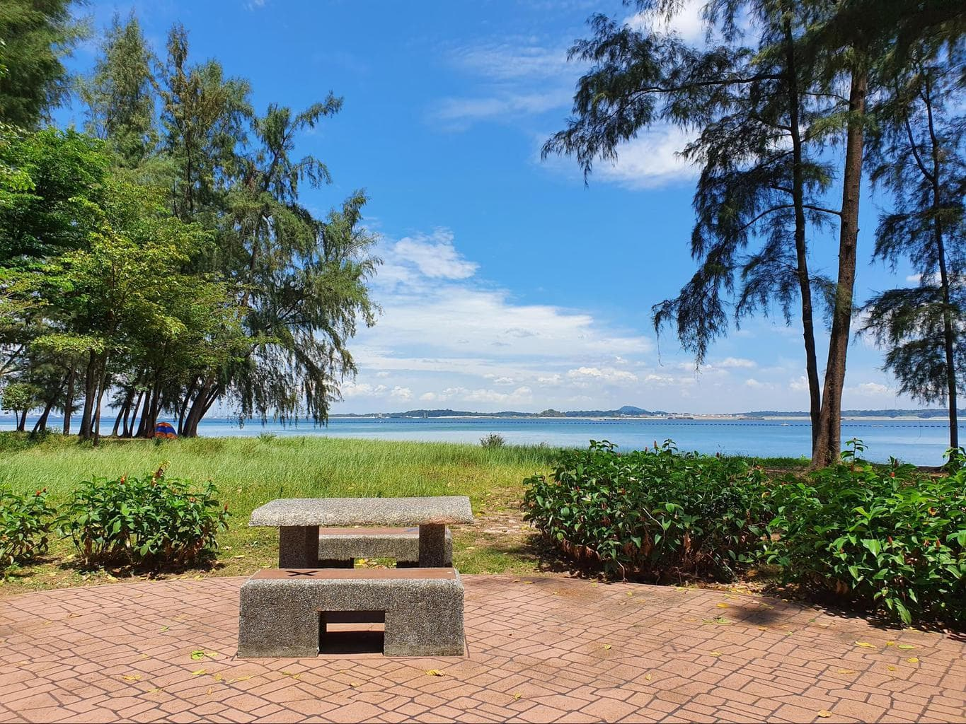 Hiking trails in Singapore to Changi Beach Park