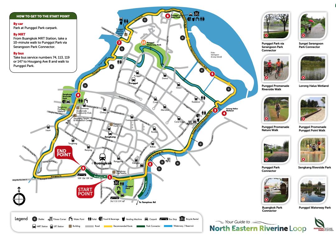 Northeastern Riverine Loop map