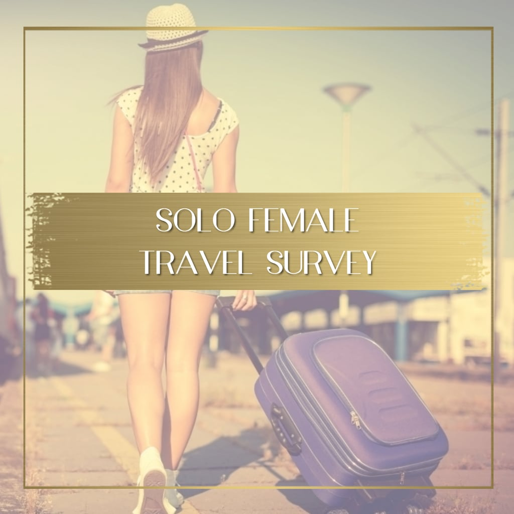 Solo Female Travel Survey 2020 feature