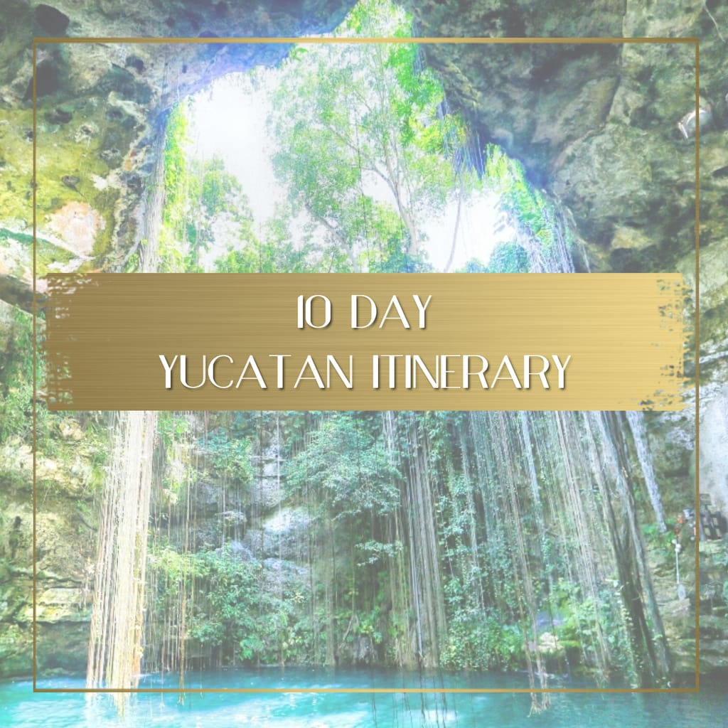 Yucatan itinerary feature