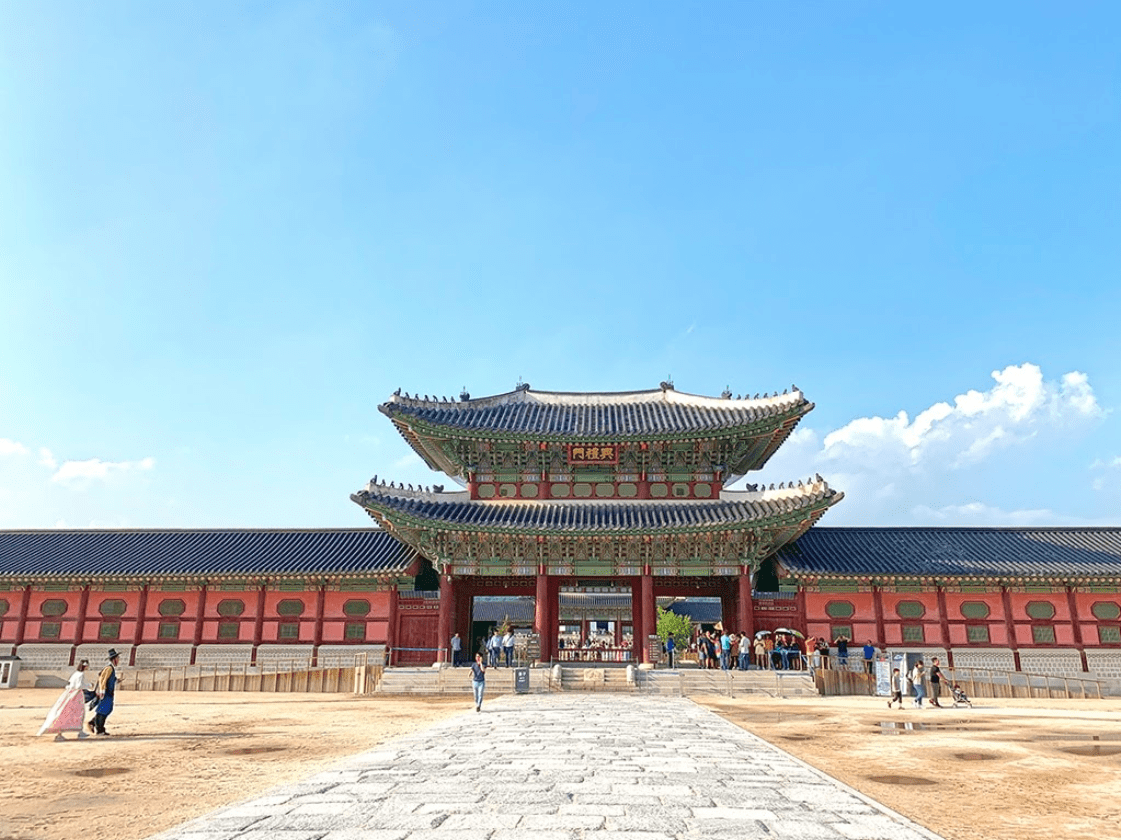 Entrance to Gyeongbokgung