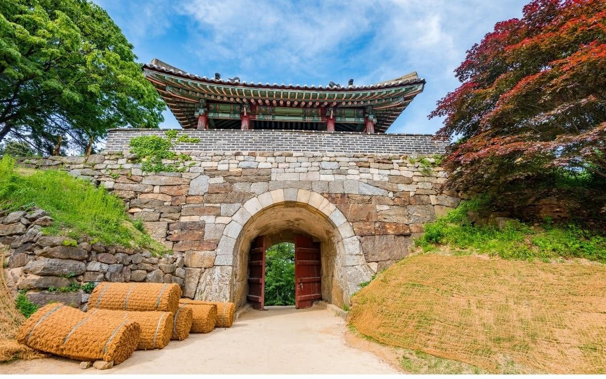 Namhansanseong fortress gate