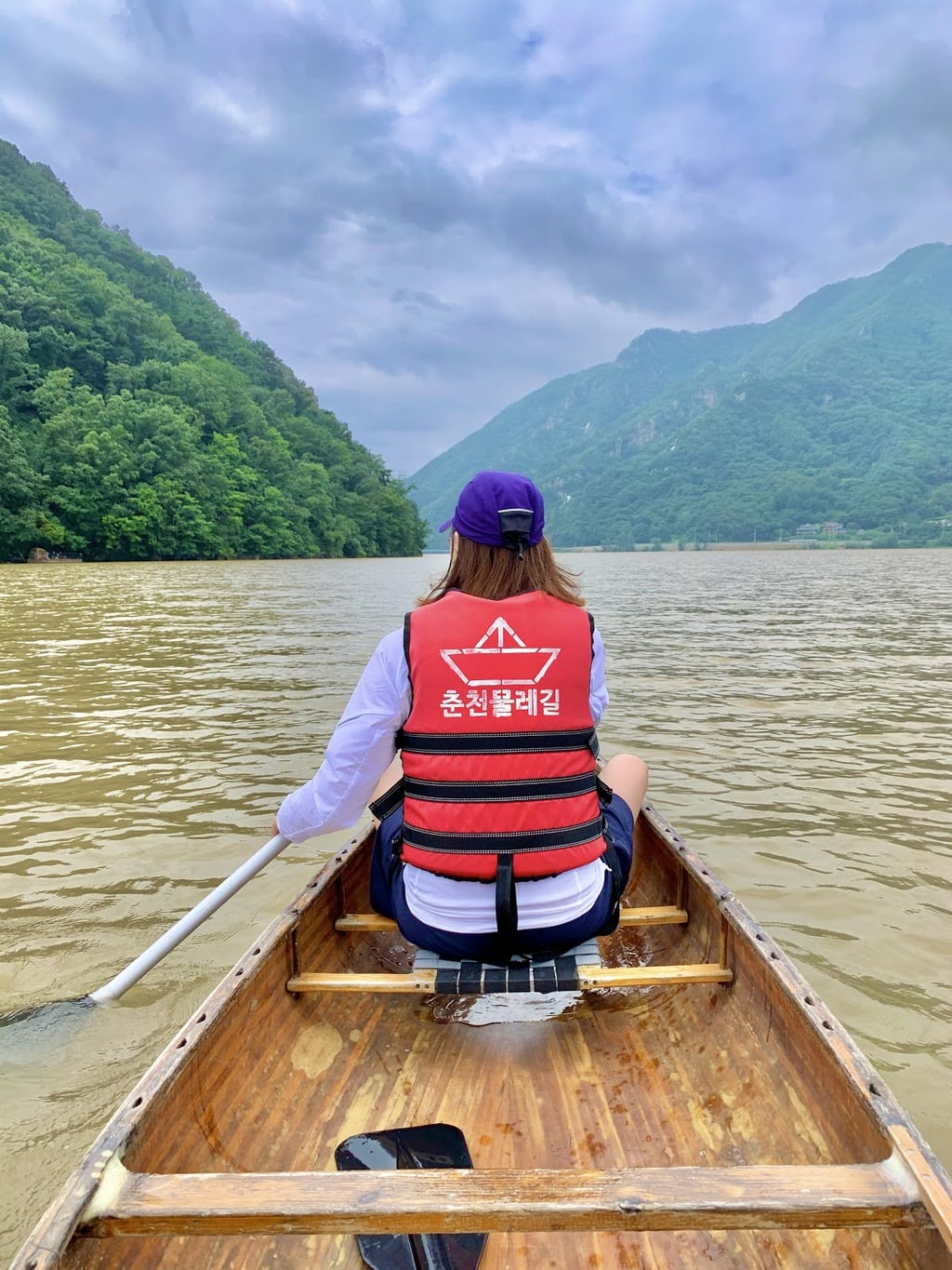 Canoeing in Chuncheon
