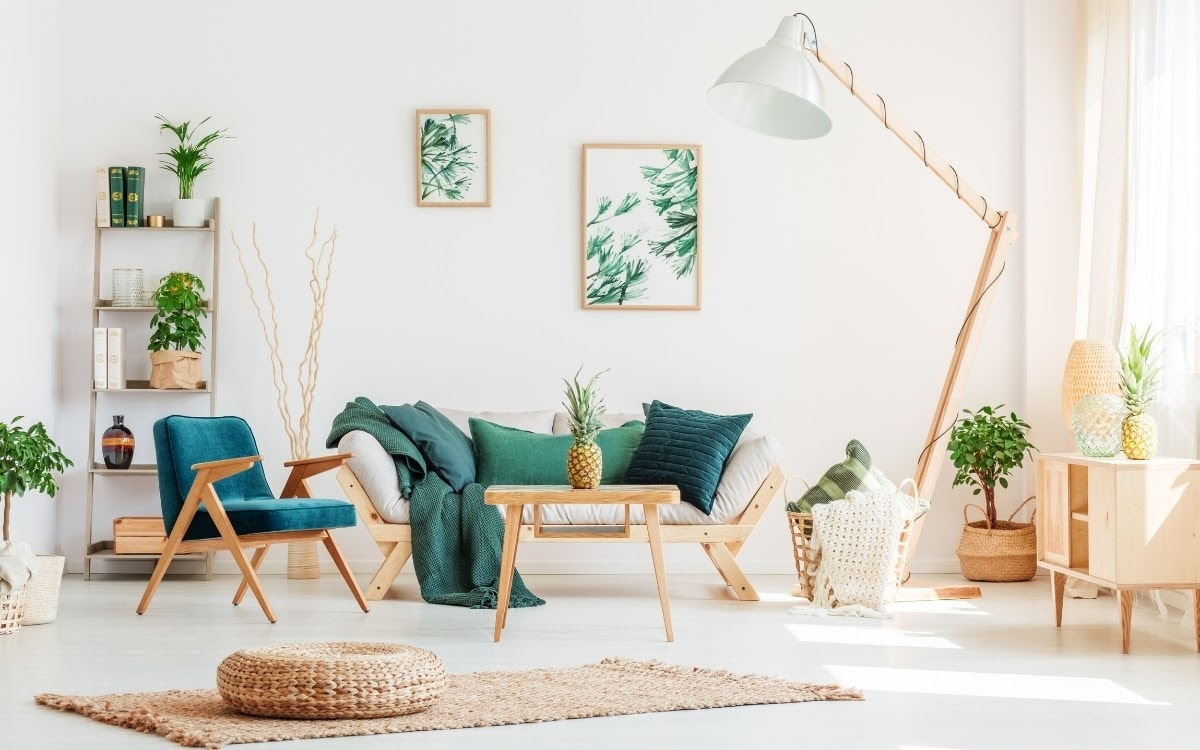Kit your new place out with essential furniture, build the rest up over time