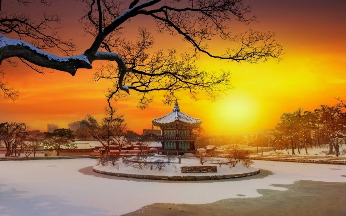 South Korea has some really beautiful scenes